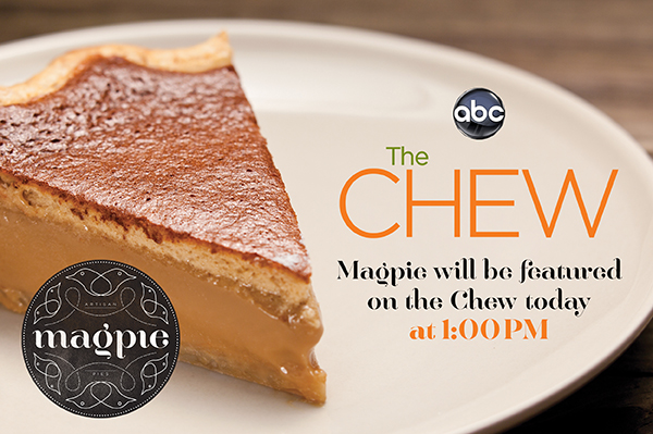 Check out Magpie on ABC's The Chew Today