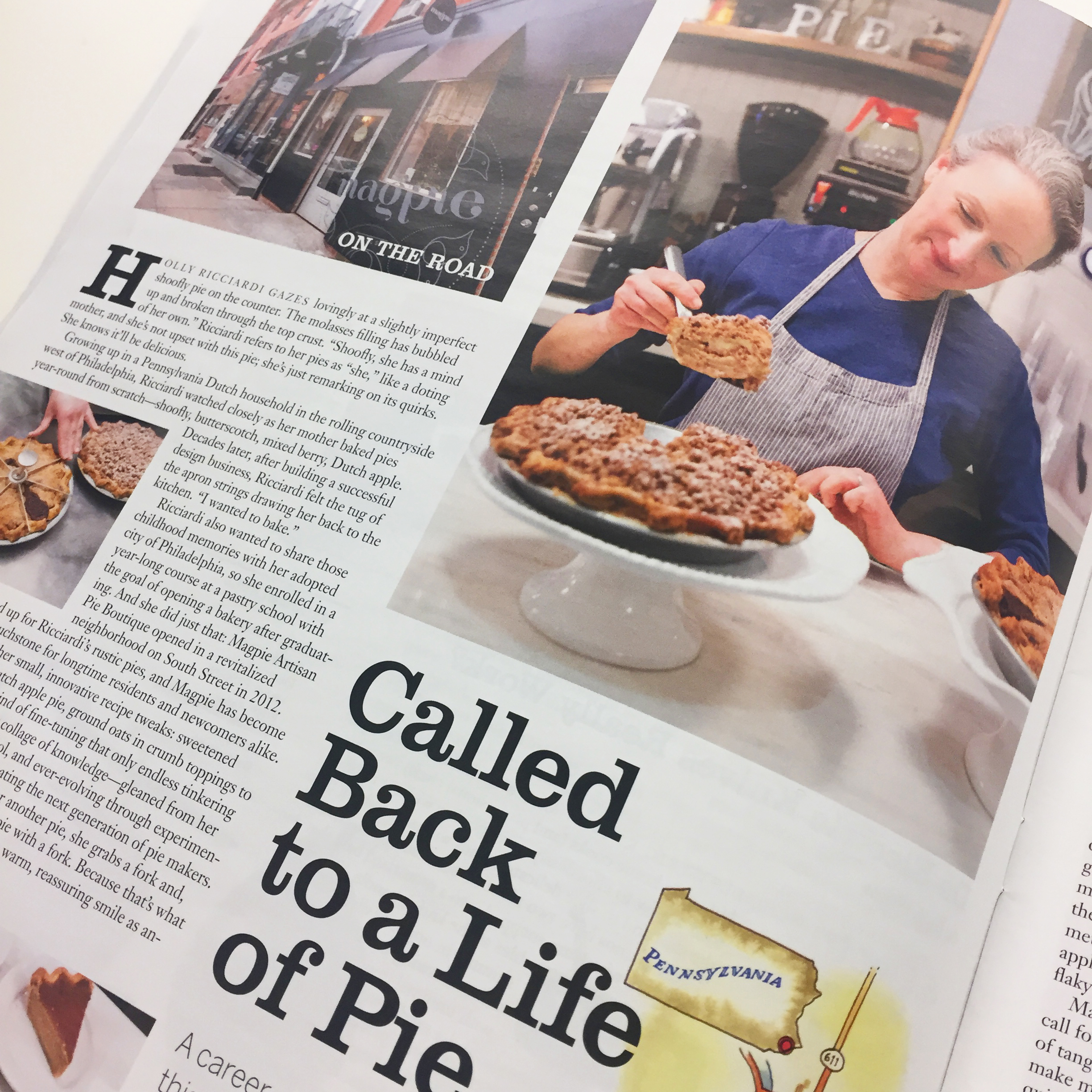 Called Back to a Life of Pie